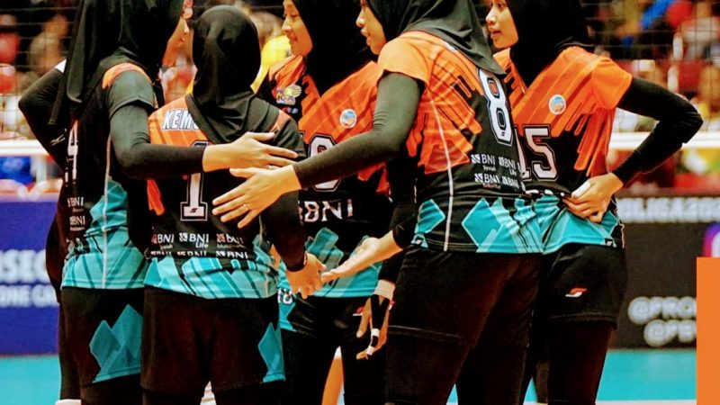 BNI 46 Amankan Tiket ke Final Four Proliga